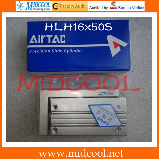 Original AirTAC compact slide cylinder HLH Series HLH16x50S original airtac compact cylinder ace series ace100x30