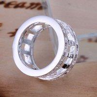 2017 продажа бижутерии кольца бесплатная доставка стерлингового серебра 925 циркон кольцо для женщины моды римские кольца ювелирные изделия оптовая цена