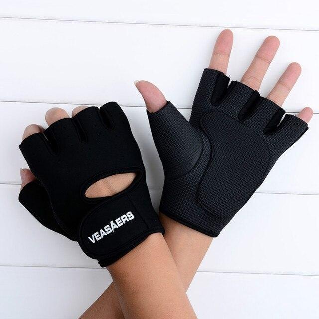 ANCHEER новый Спорт Перчатки для Фитнеса Упражнение Тренажерный зал Перчатки Многофункциональный для Мужчин Женщин Велоспорт Езда Половины Пальцев Перчатки