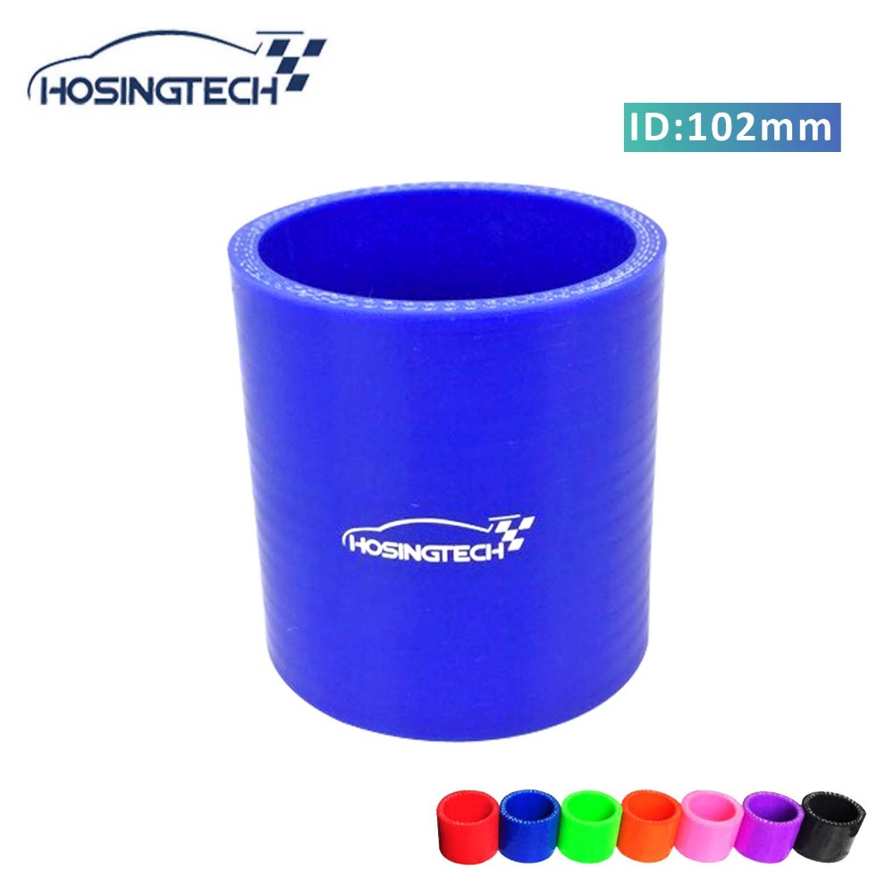"""BLUE 3.5/"""" 89mm 3-ply Silicone Coupler Hose Turbo Intake Intercooler Ford"""