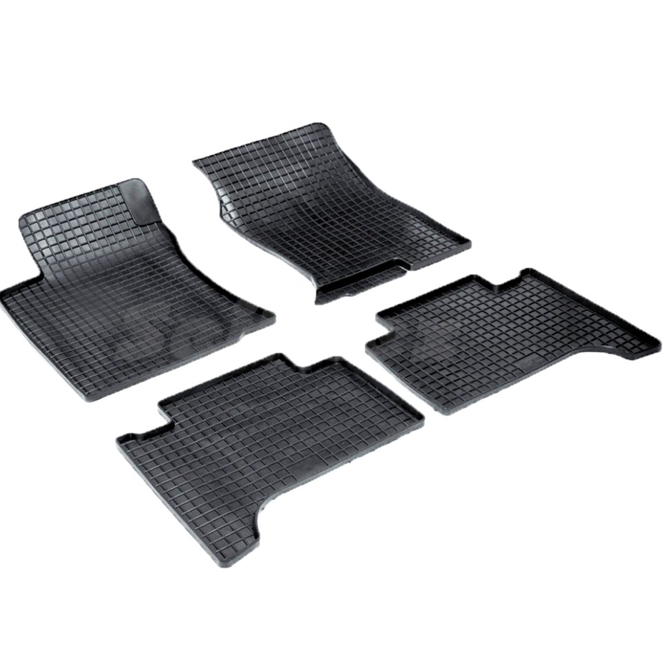 цена на Rubber grid floor mats for Toyota LC120 Prado 2002 2003 2004 2005 2006 2007 2008 2009 Seintex 00254