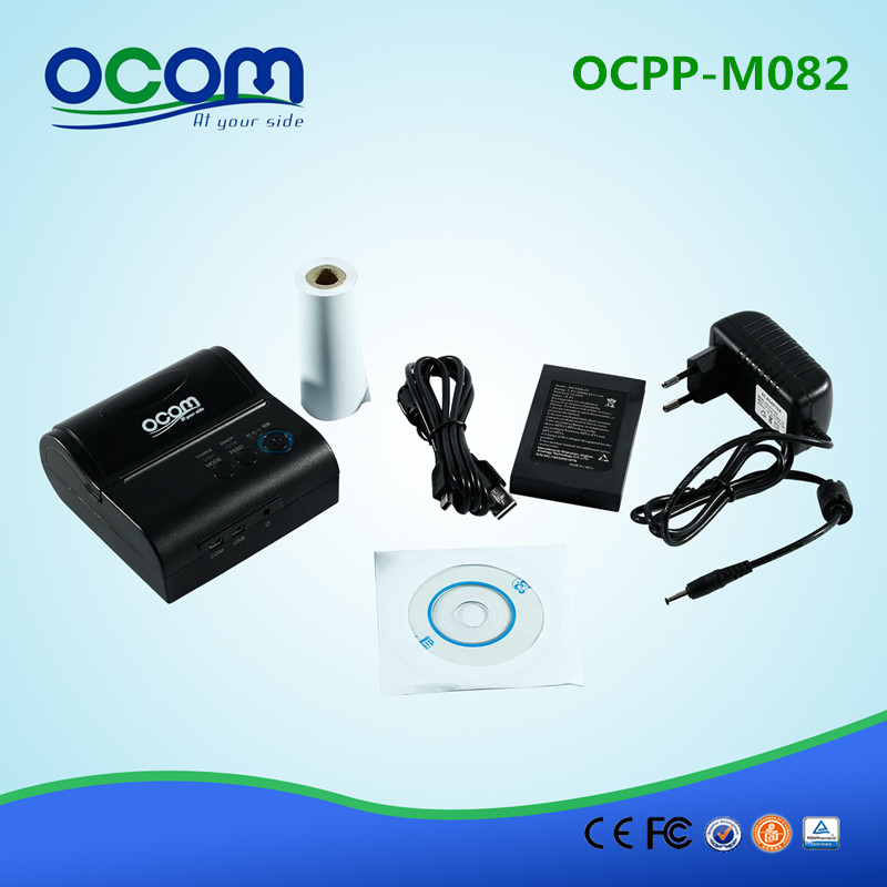 OCPP-M082-BB 80MM Bluetooth Portable Receipt Printer For Andoid and IOS