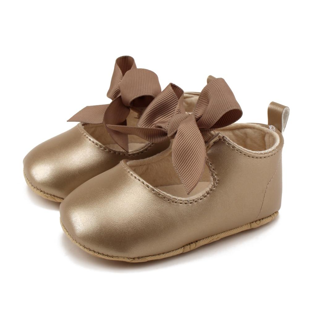 Delebao 2018 Newdesign Baby Schuhe Milch Weiß PU 0-18 Monate Unisex - Babyschuhe - Foto 3