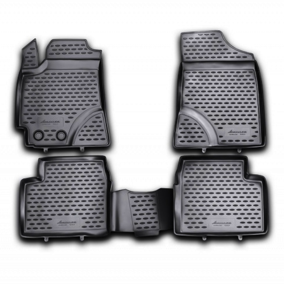 лучшая цена Floor mats for Geely Emgrand EC7 2011 2012 2013 2014 2016 Element NLC7505210KH Russia Stock