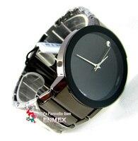 100% аутентичные реального синоби бренд ШБ-12 бесплатная доставка мода из нержавеющей ремень мужчины краткая информация продвижение часы кварцевые наручные часы