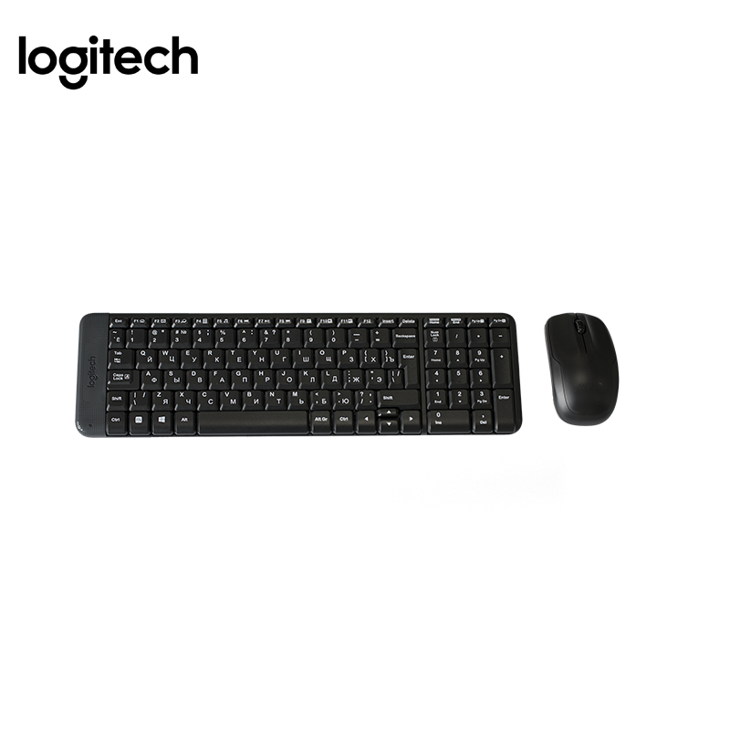 Wireless combo Computer keyboard+Mouse Logitech MK220 Officeacc mini i8 keyboard russian english hebrew spanish version i8 keyboard remote air mouse touchpad keyboard for android tv box pc