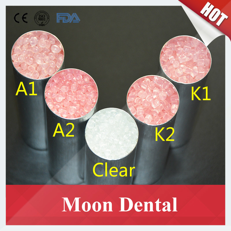 High Quality 1 KG/bag K1 K2 K3 Clear Unbreakable Dental Material Valplast Flexible Acrylic Resin Material for Denture Prosthesis new 6 kg bags a1 a2 dental valplast acrylic flexible resin material granule denture particle teeth dental lab partial pink