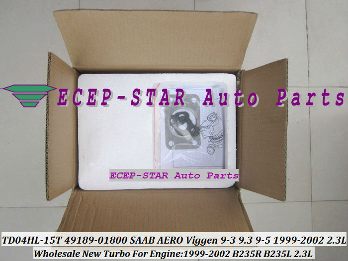 TD04HL-15T 49189-01800 49189-01830 TURBINE TURBO FIt For SAAB AERO Viggen 9-3 9.3 9-5 2.3L B235R B235L 1999-02 turbocharger (60)