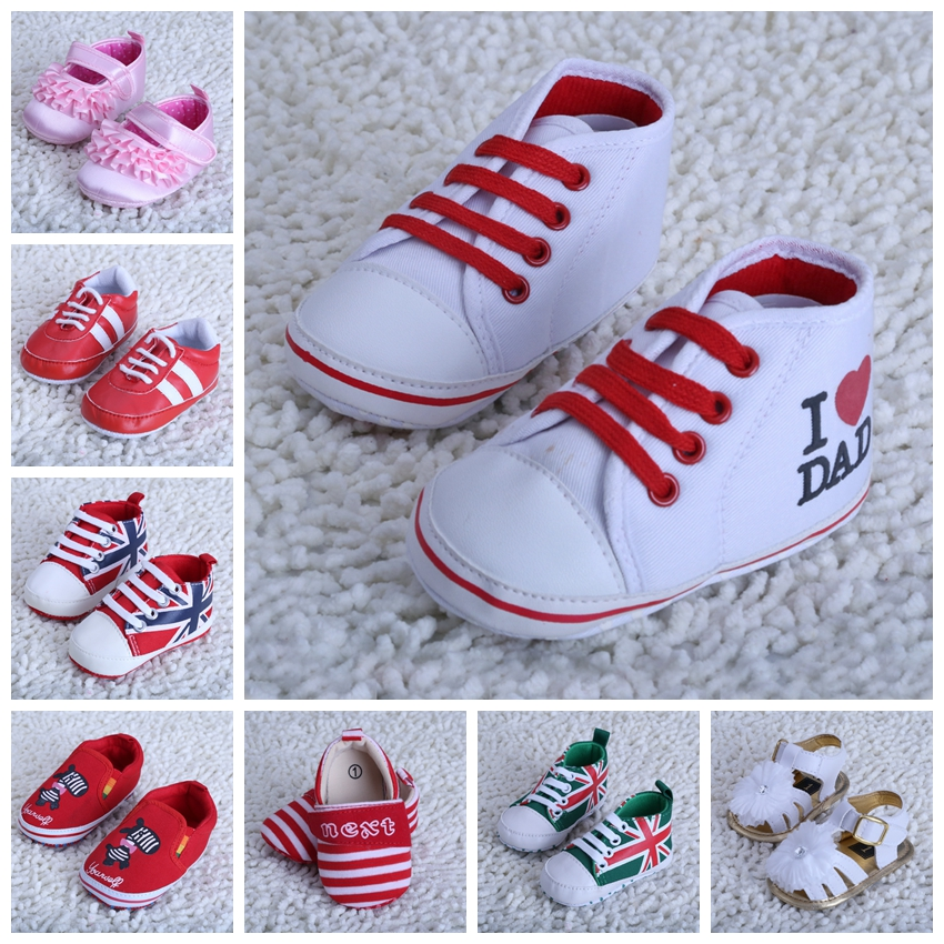 2016 autumn winter cotton baby first walker baby shoes