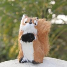 Newly handmade cute simualtion forest animal squirrel