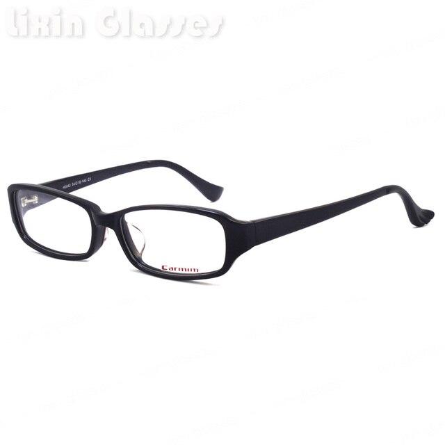 Black Acetate Frame Yellow Temple For Male Eye Glasses Frame H0042 ...