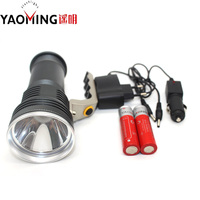 Searchlight flashlight Cree Q5 2300LM led linternas lantern rechargeable hand light lamp 18650 battery + charger led flashlight