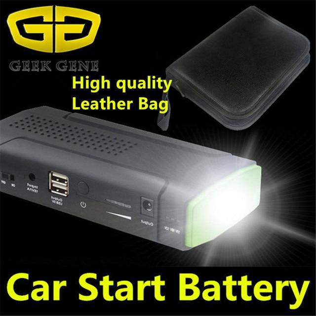 2017 High Quality 9900mAh 12V Mini Car Jump Starter Emergency Battery Charger Multifunction Phone Laptop Power Bank Drop Ship