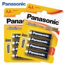 Panasonic LR6REB/4BPR Щелочные батарейки 8 штук Alkaline Power AA 1.5 В, Защита от протекания, Сохранение энергии в течение 7 лет,