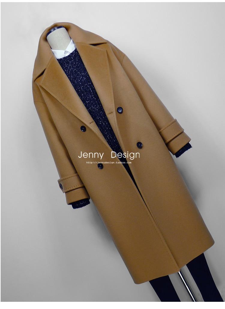 winter women camel wool long oversize coat elegant manteau. Black Bedroom Furniture Sets. Home Design Ideas