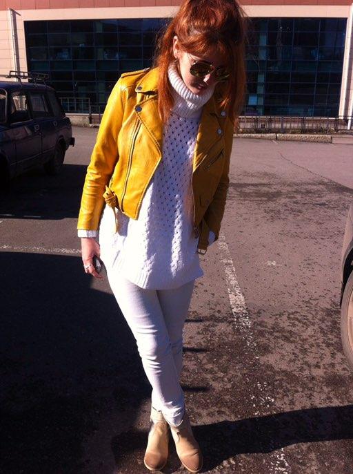 Пост о знаменитом белом свитере от Simple свитер стал популярным ! Я получила его ещё в августе - но именно сейчас почувствовала все прелести этого белоснежного облачка
