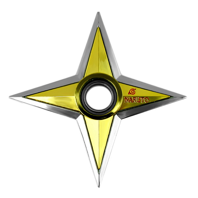 Naruto Rotating Shuriken Darts Weapon Toys