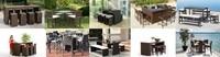 современная уличная мебель патио комплект ГСС-039