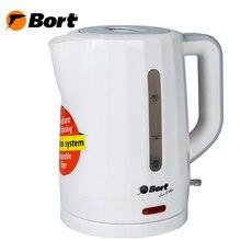 Чайник электрический Bort BWK-2017P (мощность 2000 Вт, индикация сети, объем 1.7л, защита от перегрева)
