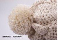 бесплатная доставка хиты продажи женщина сладкий зимняя шапка ок кнопки шляпа теплую шапку