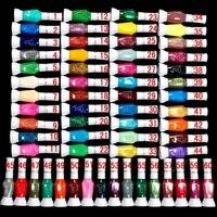 по CPA бесплатная ] оптовая продажа - новинка 60 цветов 2-полосная поделки лак для ногтей ручка лак для щетки