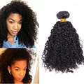 Ever Beauty Hair Products Kinky Curly Malaysian Virgin Hair 1 Pc 3B 3C Kinky Curly Human Hair Extensions 6A Malaysian Curly Hair