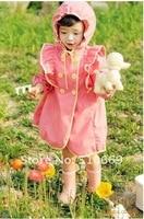 с 4 шт / много дети пончо, дети животное модель плащ, полиэстер милый дождь пальто с мешком дождевики