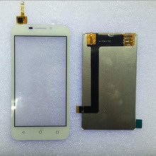 New Original White Touch Screen Digitizer Glass Sensor+LCD Display Panel Screen For Huawei Y541 4.5″ Assembly Replacements