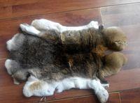 High Quality Tanned Rex Rabbit Fur Skin, Rex Rabbit Fur