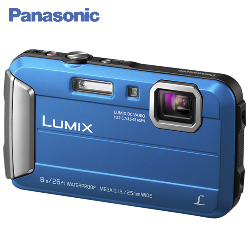 Panasonic DMC-FT30EE-A Digital Camera Built-in Memory 220 MB MEGA O.I.S. Filter effects Record video in MP4 HD format kaure 2016 1080p full hd 16x digital zoom digital video camera camcorder with lcd night shot max 24mp support face detection