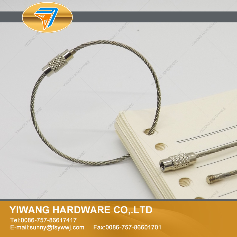 Aliexpress Hot Sale Office Collection Wire Loop Hainging Ring Multipurpose Ring Stainless Steel Wire Factory Direct