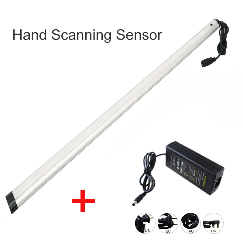 LED hand Scanning Sensor Lamp 30 50cm Motion Sweep Sensing Light Night Lamp with Dc connect
