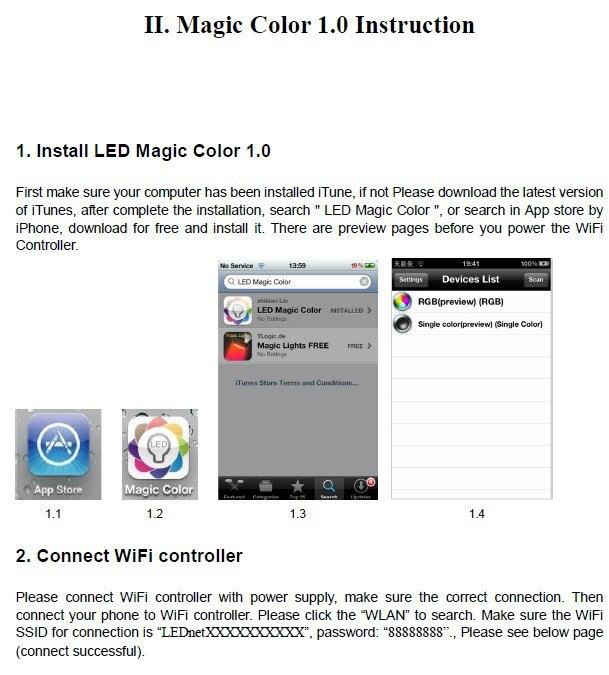 מיליונים הצבע RGB LED בקר WIFI,מוסיקה מצבי wifi370 controle,לאייפון,אנדרואיד 2.3 גירסה IOS,הוביל בקר מוסיקה