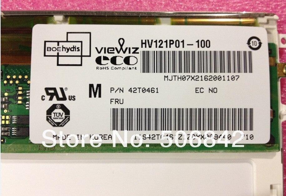 """HV121P01-100 для IBM X60T X61T 12,"""" дюймовый экран высокого оценка 1400*1050(гарантия 1 год"""