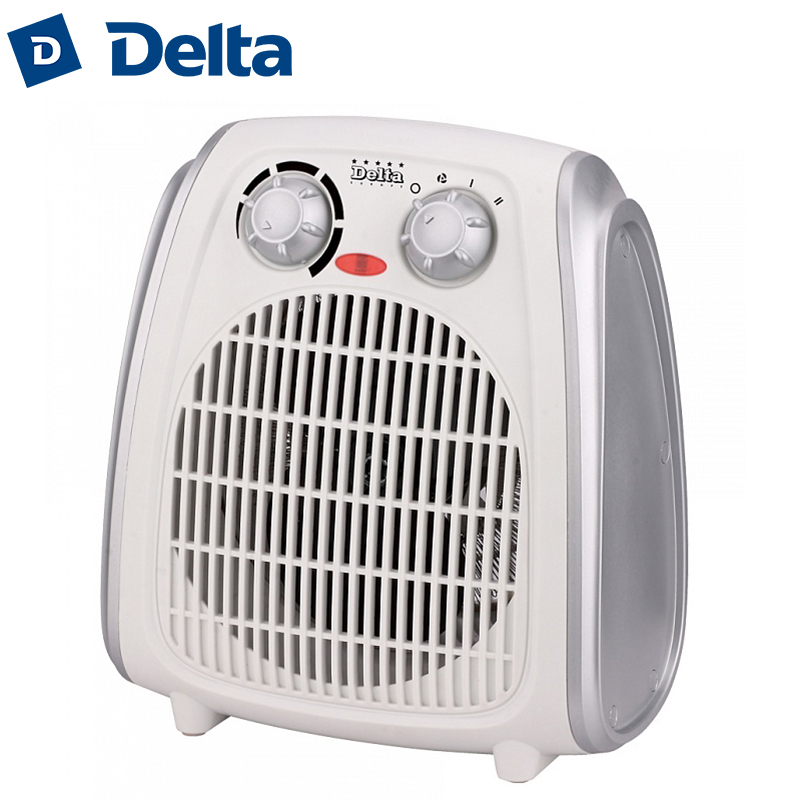 DL-D-803/1 Electric fan Room heater, 2000W, air heating space warmer fans household heating device heat ventilation DELTA tourmaline electric heating therapy waist support jade stone heating belt for sale