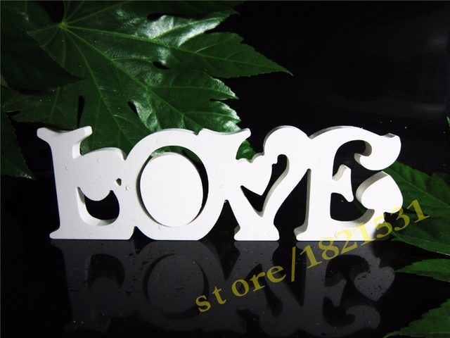 Online Shop New Style Conjoined Letter Love Photo Frame Home Decor