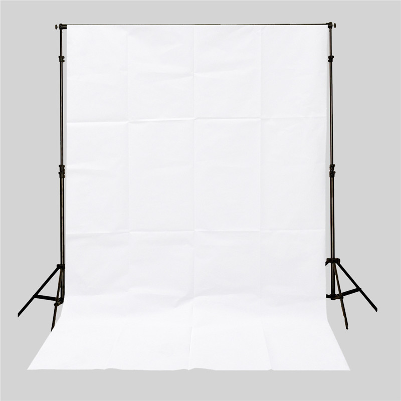 3x5ft professional Pure White Screen Photography Backdrop Studio Photo Props Photographic Background Cloth 0.9x1.5m light weight