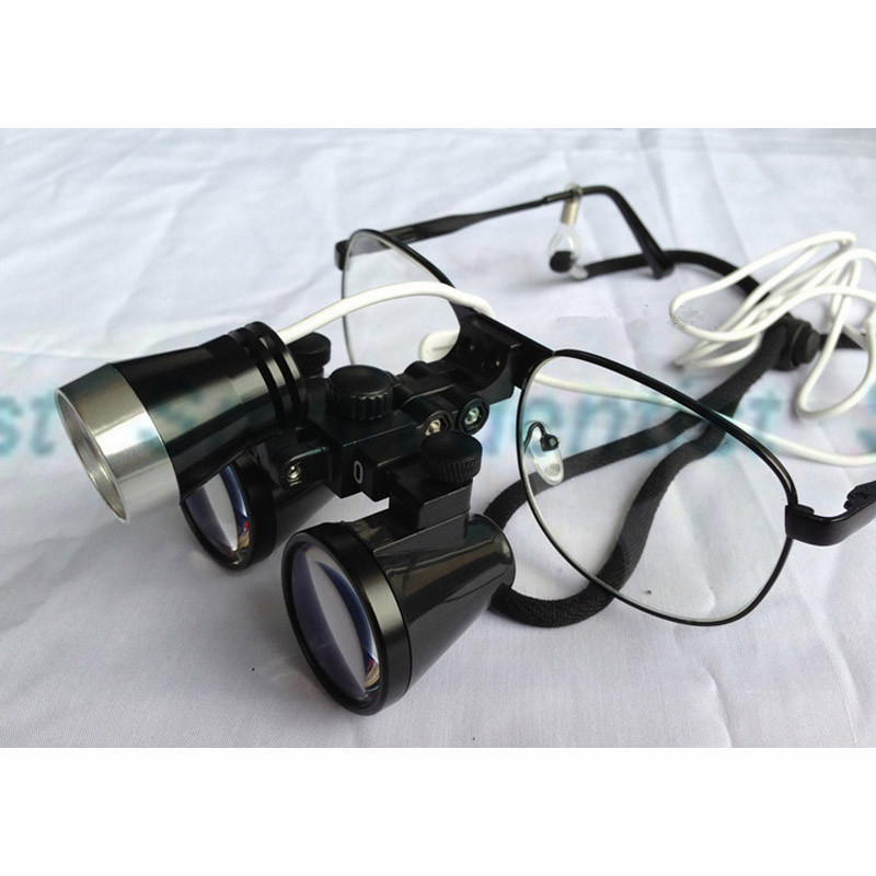 New Dental Equipment: 2.5x Dental surgical magnifying glass/Dental surgical loupes with CE цены
