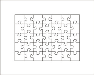 puzzle die 5 x7 35pcs thickness 23 8mm