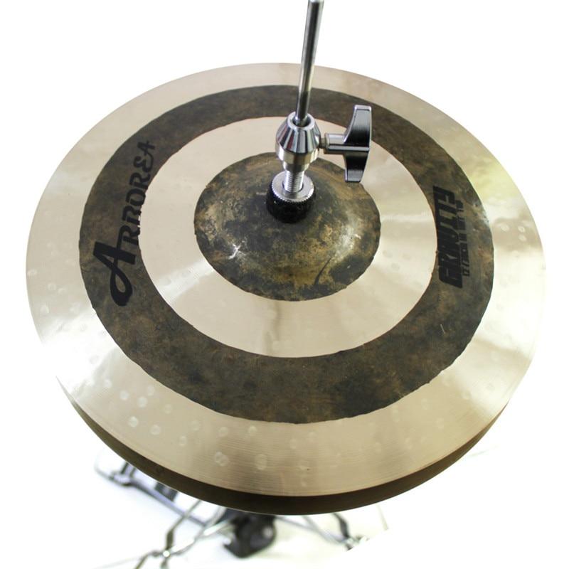 Arborea cymbal,gravity 14hi-hat cymbal for drums тарелка хай хэт zultan 14 aja hi hat
