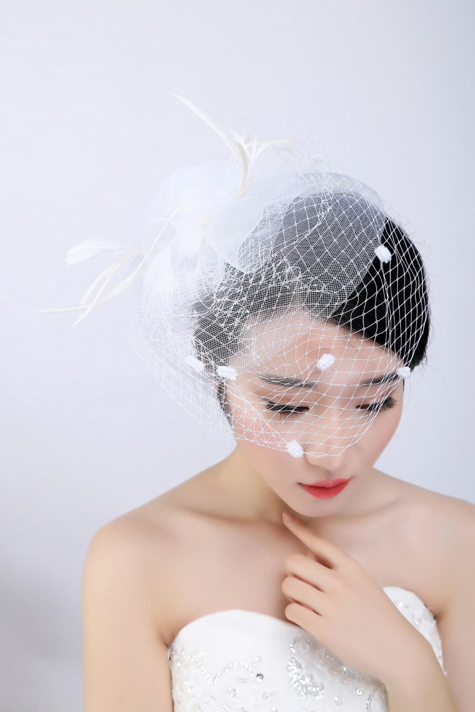 charming bridal hats white wedding bridal hair accessories headpiece