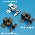 Big size Double roller bronze plate door latch wardrobe catch kitchen cabinet cupboard