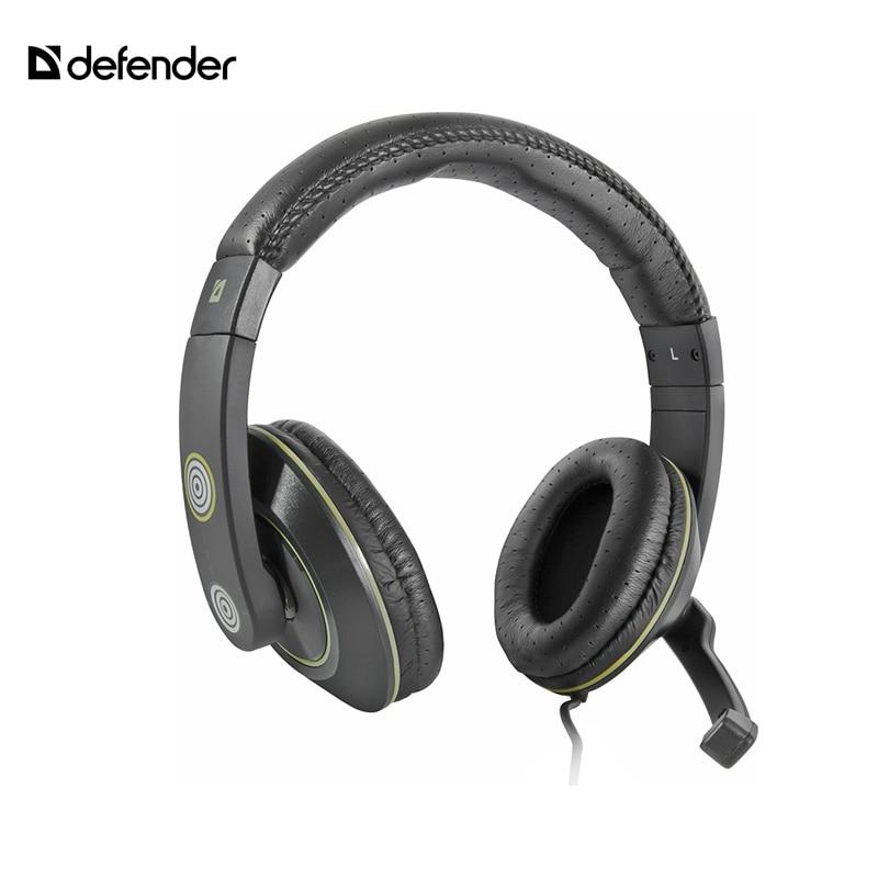 Gaming Headphone Defender Warhead G-110 3 5mm stereo gaming headphone headset headphone with mic microphone for pc laptop skype