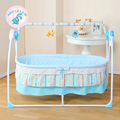 Russia free shipping Electric cradle bed baby cradle bed baby rocking bed newborn automatic cradle bed extended 1 meters