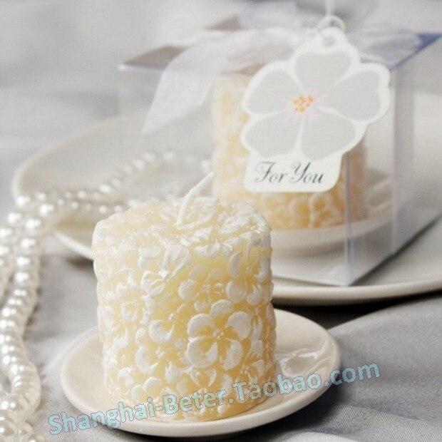 Exceptionnel Wedding souvenir 24 box plumeria fiori candela profumata con  DW08
