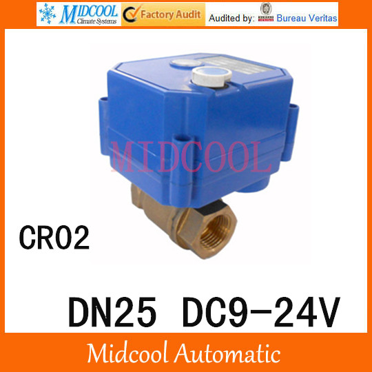 CWX-25S Brass Motorized Ball Valve 1 2 way DN25 minitype water control valve DC9-24V electrical ball valve wires CR-02 cwx 25s brass motorized ball valve 1 2 way dn25 minitype water control valve dc3 6v electrical ball valve wires cr 02