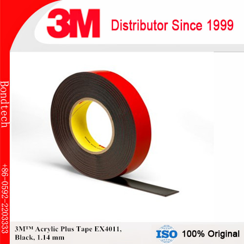 buy 3m ex4011 heavy duty exterior mounting tape black 45mil 10mm x 36 yd from. Black Bedroom Furniture Sets. Home Design Ideas