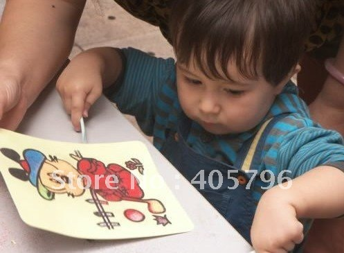 Free shipping  1100pcs/lot-  cards for Color Sand art_hot selling
