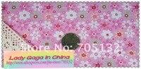 100% хлопок ткань для своими руками и пэчворк, милый розовый 45 * 50 см материал комплект, 18 шт