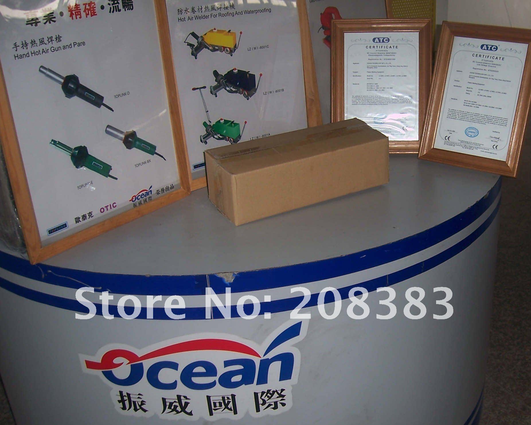 1000 Вт многопозиционный пластиковый сварочный аппарат горячего воздуха/6 комплектов